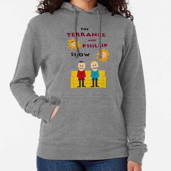 South Park Terrance y Phillip Sudadera ligera con capucha