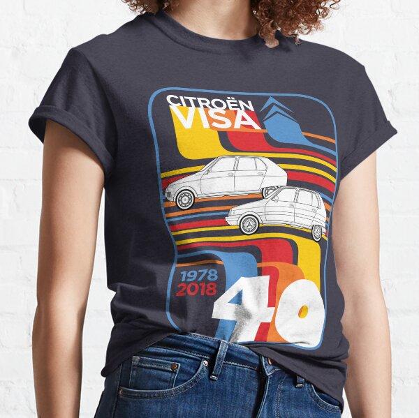 Citroen Visa 40th Anniversary Art graphique T-shirt classique