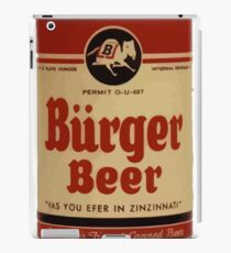 BEER - Vintage Burguer can. iPad Case/Skin