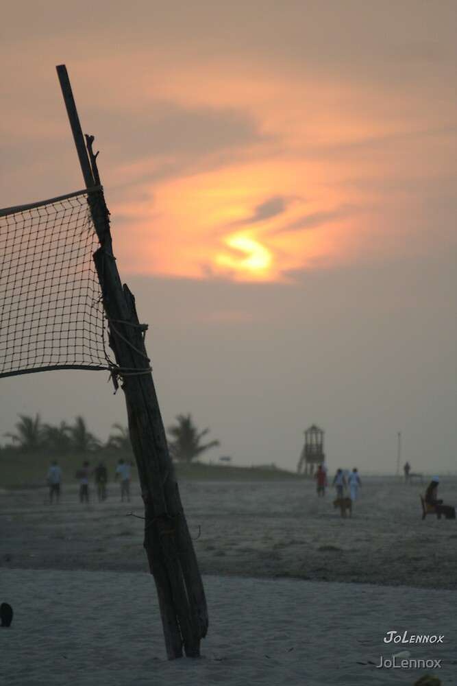 Sunset In The Gambia II  by JoLennox