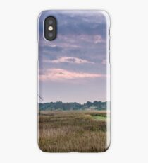September Evening at the Windmill iPhone Case