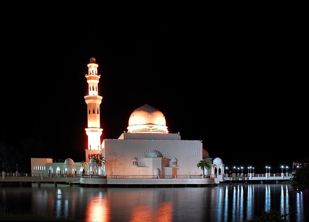 Floating Mosque by geirkristiansen