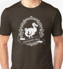 Dodo: Expired 1693 (white) T-Shirt