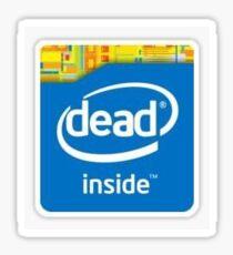 Dead inside (Intel Inside) Sticker