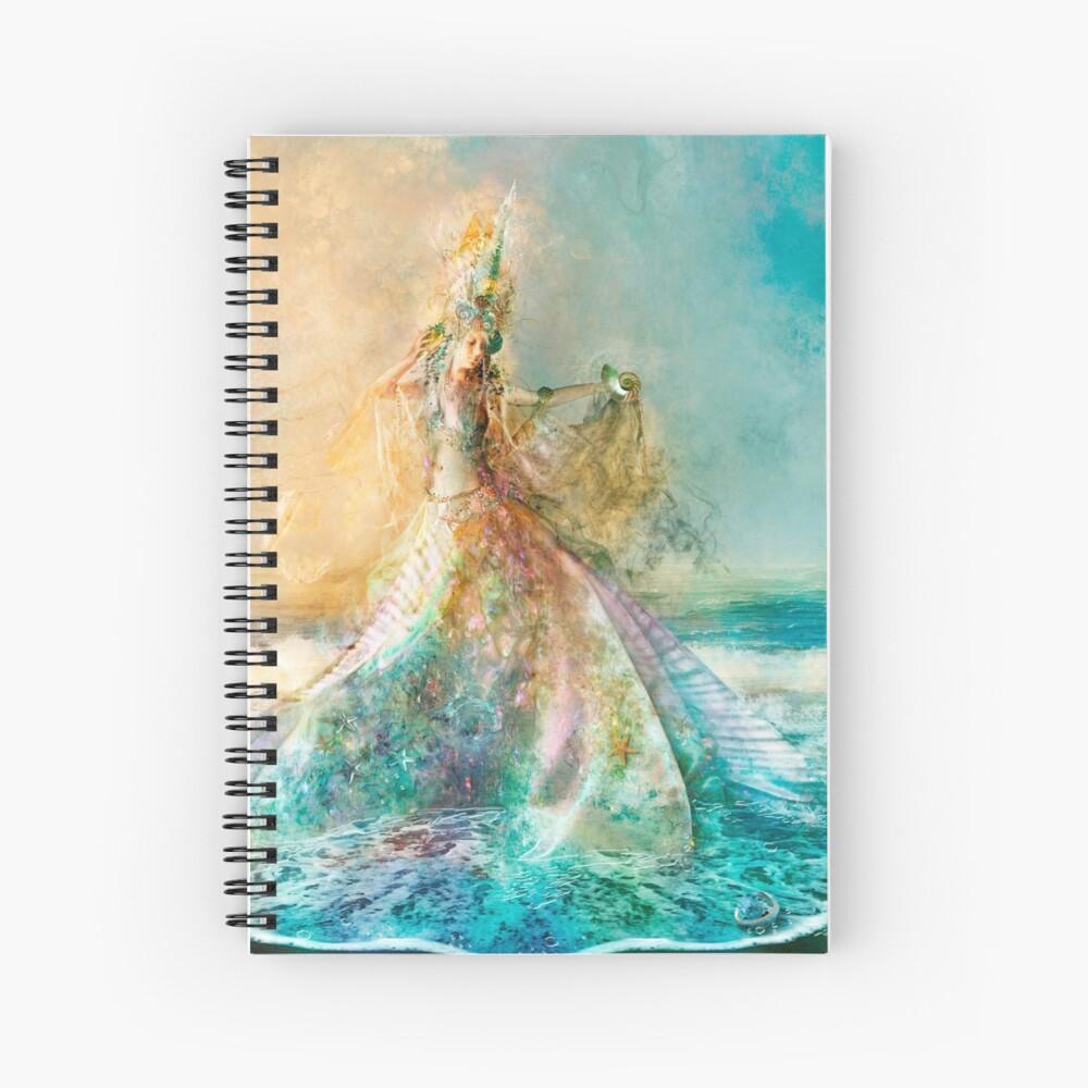 The Shell Maiden Spiral Notebook