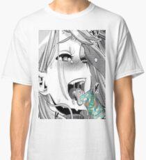 Anime Girl Drinking Arizona Classic T-Shirt