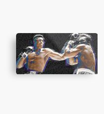 Muhammad Ali Boxing Fight Kämpfer Metalldruck