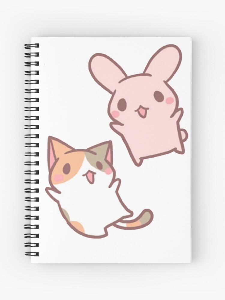 Chibi Animals Spiral Notebook