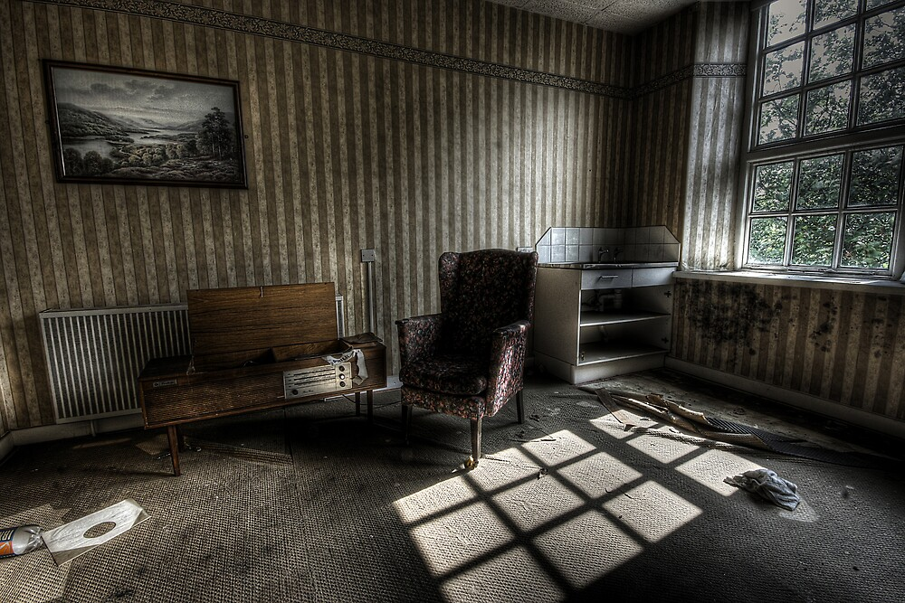 Chair over there by Richard Shepherd