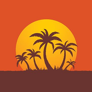 Palm Trees and Sun by fizzgig