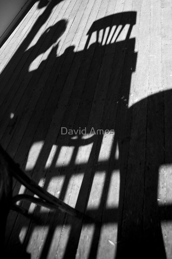 Blue M Cafe - Shadow play by David Amos
