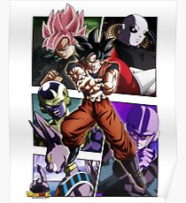 Dragon Ball Super - Characters Poster