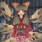 Appeasement - Kitsune Fox Yokai by TeaKitsune