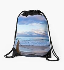 Beautiful Beaches 2 Drawstring Bag