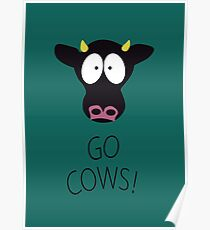 South Park Go Cows Poster
