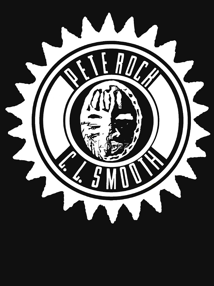 Pete Rock & CL Smooth tee (white logo) | Unisex T-Shirt