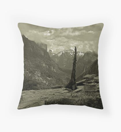 A Different View - Yosemite Valley Throw Pillow