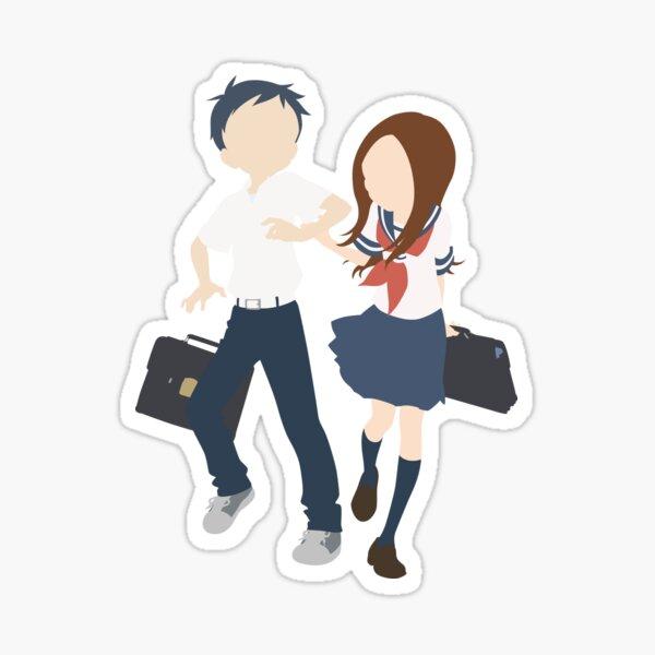 takagi san stickers redbubble