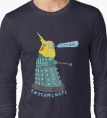 birb exterminate AAAAAAAA Long Sleeve T-Shirt