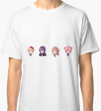 Doki Doki Literature Club - Chibi Characters Classic T-Shirt