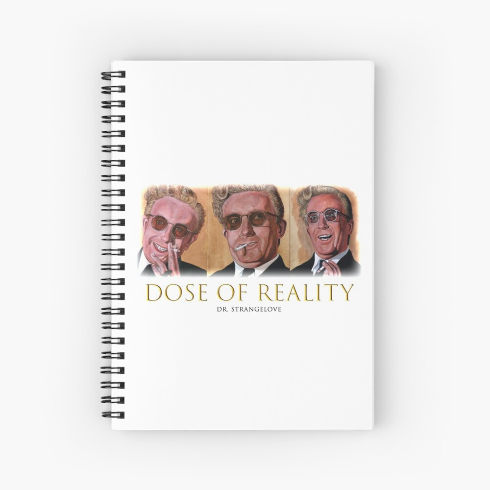Dose of Reality Spiral Notebook