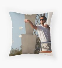 Wolf Of Wall Street Throw Pillow