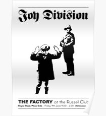 Joy Division at the Russel Club Poster