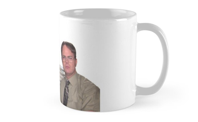 the office mug. Jim Halpert Dwight Schrute The Office By Knowyourrights The Office Mug K