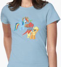 Appledash cutie mark Womens Fitted T-Shirt