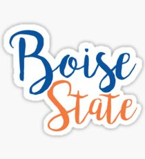 Boise State University Sticker