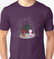 Everyone's favourite foxes Unisex T-Shirt