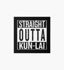 Straight outta Kunlai Art Board
