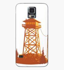 Feueruhr Wachturm Hülle & Skin für Samsung Galaxy