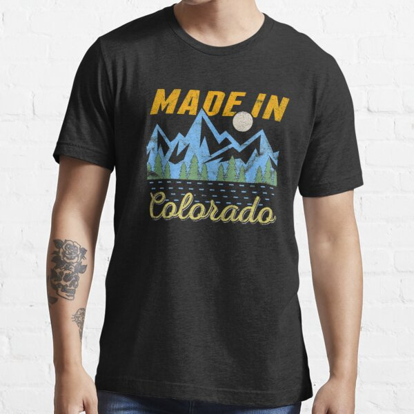 Made in Colorado Landscape Camping design Essential T-Shirt