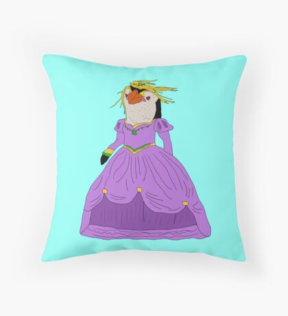 Royal Princess.  Throw Pillow