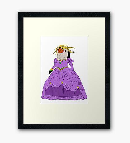 Royal Princess.  Framed Print