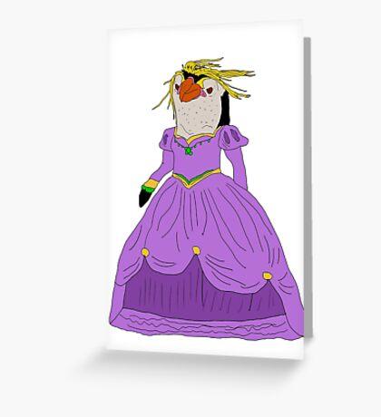 Royal Princess.  Greeting Card