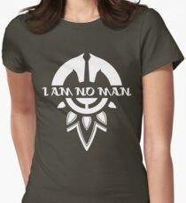 I Am No Man Women's Fitted T-Shirt
