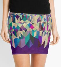 Purple Town Mini Skirt