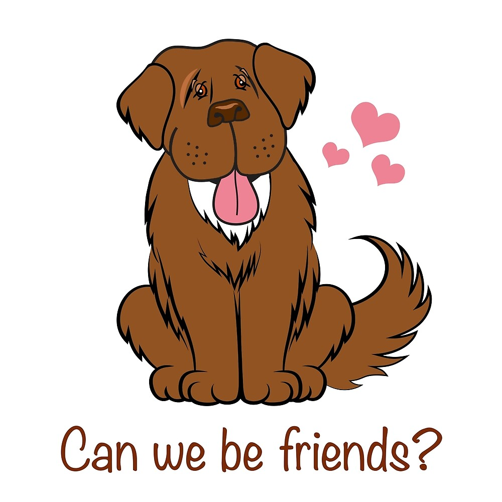 Can we be friends?  by Christine Mullis