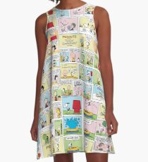 Peanuts Comics A-Line Dress