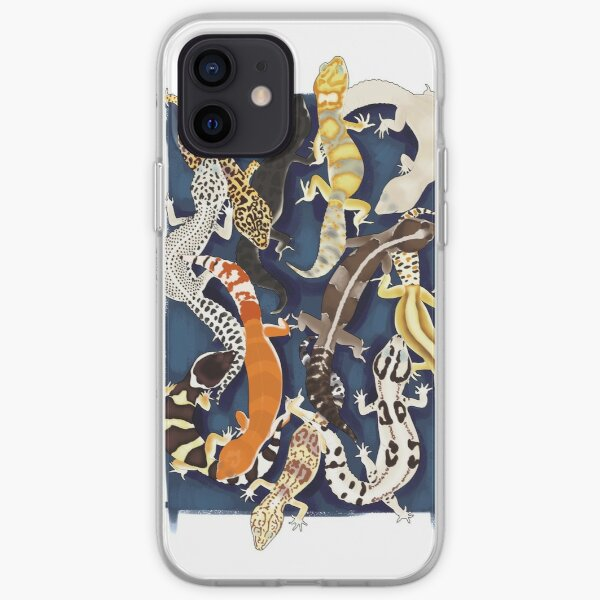 Gecko overdrive iPhone Soft Case