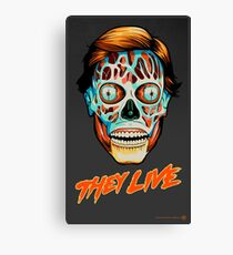 They Live - Classic Movies Canvas Print