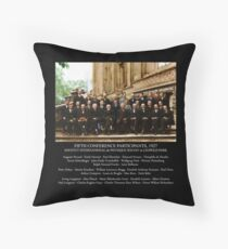 Albert Einstein Solvay Conference 1927 Throw Pillow