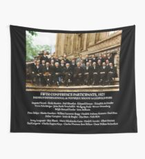 Albert Einstein Solvay Conference 1927 Wall Tapestry