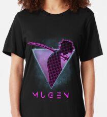 Samurai Champloo 80s Future - Mugen  Slim Fit T-Shirt