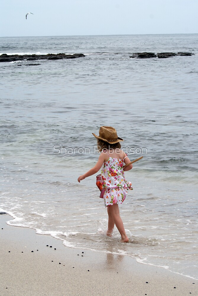Stroll along the beach... by Sharon Robertson