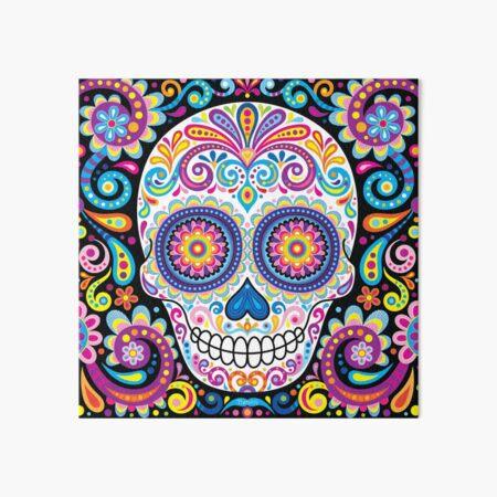 Sugar Skull Art (Cosmos) Art Board Print