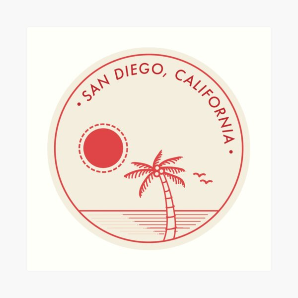 San Diego, California Art Print