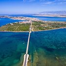 Bridge to island Vir by Ivan Coric